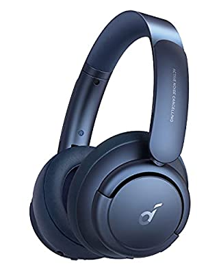 Soundcore by Anker Life Q35 Multi Mode Active Noise Cancelling Headphones, Bluetooth Headphones with LDAC for Hi Res Wireless Audio, 40H Playtime, Comfortable Fit, Clear Calls, For Home, Work, Travel from Anker