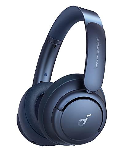 Soundcore by Anker Life Q35 Casque Bluetooth à Réduction de Bruit Active, Multimode avec LDAC Hi-Res Audio Sans Fil, 40H de lecture, Portée confortable, Appels clairs pour les maison, travail, voyages