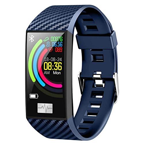 naack Pulsera Inteligente a Prueba de Agua Fitness ECG Frecuencia cardíaca Monitor de Actividad Fitness Tracker Reloj Inteligente Pulsera Deportiva rastreador de Ejercicios