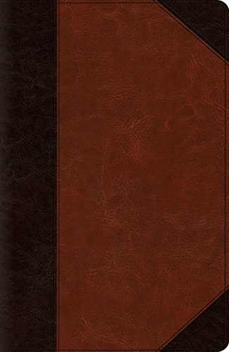 ESV Reference Bible (TruTone, Brown/Cordovan, Portfolio Design)