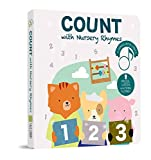 Cali's Books Count with Me - Press, Listen and Count Out Loud! Learn Numbers - Best Interactive and Educational Book for Baby, Toddler, 1-4 Year Old Girl and Boy. Board Book