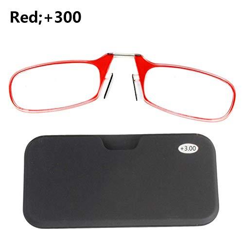 Fancylande leesbril 1.0 1.5 2.0 2.5 3.0 heren dames modern mini draagbaar kunststof leesbril voor dames en heren verstelbaar