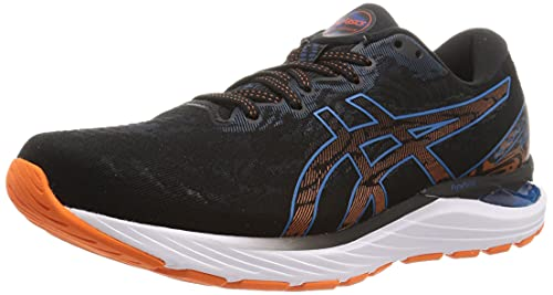 Asics Gel-Cumulus 23, Road Running Shoe Hombre, Black/Reborn Blue, 40 EU