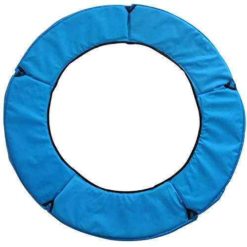 Coprimolla per Tappeto Elastico, Accessori Trampolino, Copertura Bordo di Protezione per Trampolino Elastico,Larghezza 31 cm, PVC, Varie Misure,Blue,1m