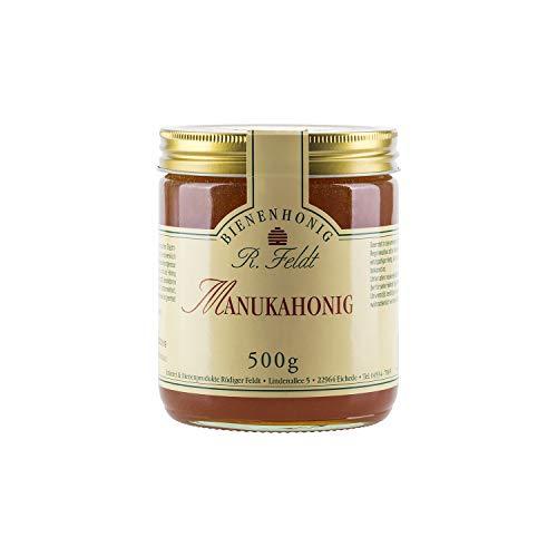 Manuka Honig, vom Neuseeländischen Teebaum, sehr hoher Reinheitsgrad, kräuterartig, 500g