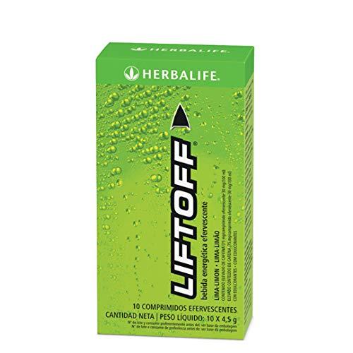 Bebida enegética Efervescente Lift off con Sabor a Lima y limón 10 x 4,5 g