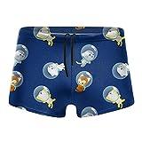 XCNGG Flying Kittens Calzoncillos Tipo bóxer de Secado rápido para Hombres Traje de baño Shorts Troncos Traje de baño XX-Large