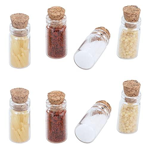 CUTULAMO Puppenhaus-Lebensmittelflasche, umweltfreundliches...
