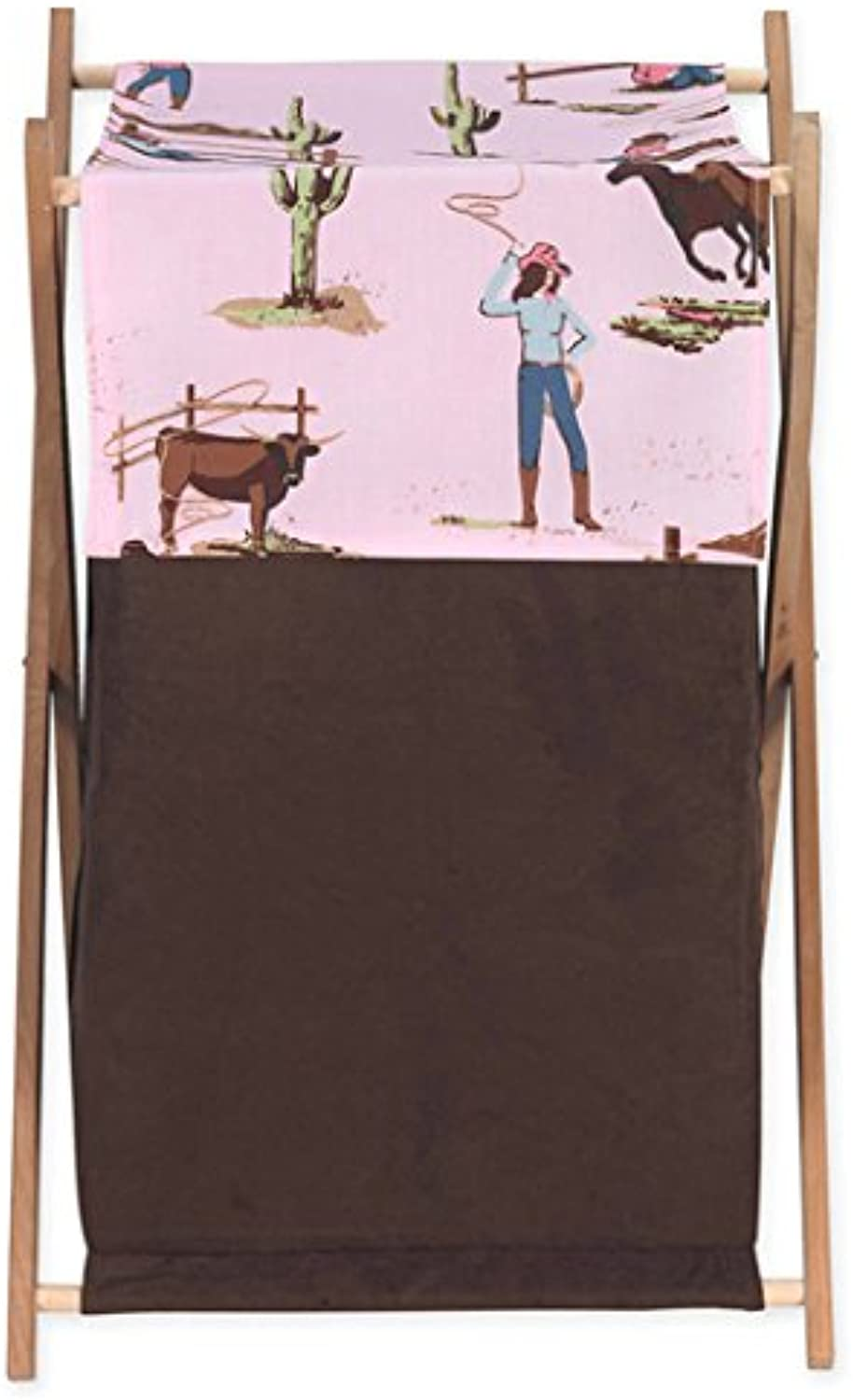 Sweet Jojo Designs Baby and Kids Clothes Western Horse Cowgirl Laundry Hamper