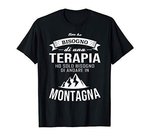 Montagna Terapia Maglietta