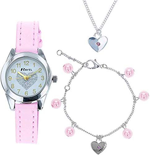 RAVEL Reloj Analógico para Niñas de Cuarzo con Correa en Plástico R2227