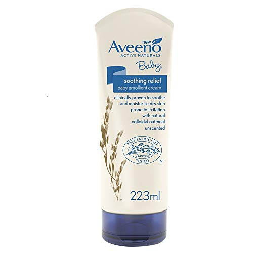 AVEENO Baby Soothing Relief Emollient Cream, 223 ml