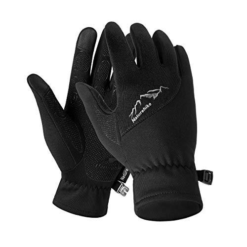 Naturehike Guantes de forro polar para deportes al aire libre, guantes para...