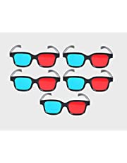 Jambar JD-05 Red & Cyan 3D Glass for 3D Video/Image/Books/Magazine