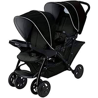 Graco Stadium Duo Click Connect - Silla de paseo, color gris/negro