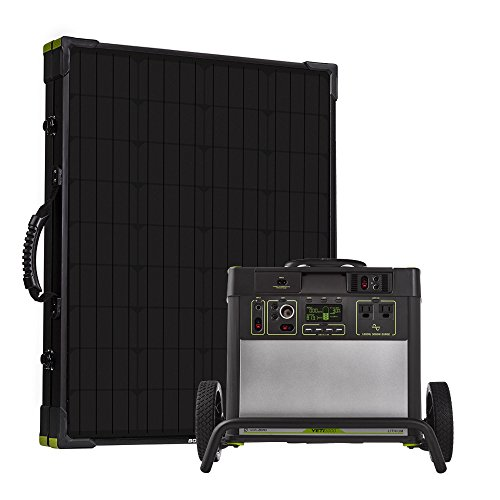 Goal Zero Yeti 3000 Lithium Portable Power Station Kit with Boulder 200 Briefcase Solar Panel