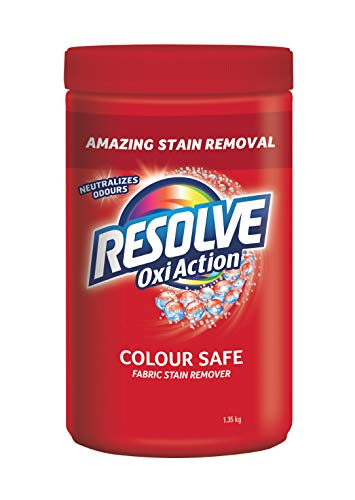 Resolve Oxi-action, Amazing Stain remover, in-wash powder, all colours, 1.35kg 1.35 kilogram