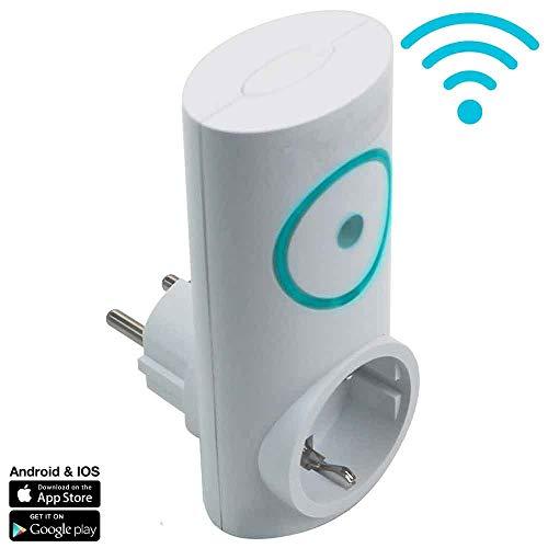 7hSevenOn Home Enchufe Inteligente WiFi Controlador de Aire Acondicionado vía Smartphone/App