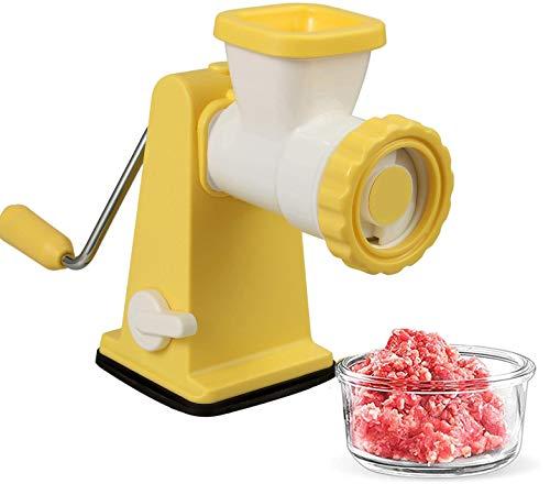 Fugen Manual Meat Mincer Grinder, Sausage Stuffer Meat Mincers for Home Use...