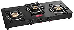 Prestige Marvel Glass 3 Burner Gas Stove - Best Gas Stove in India