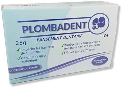 Pansement dentaire Plombadent