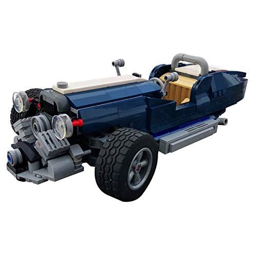 HARTI Zusammenbau Bausteine Auto Spielzeug, Kreatives Fahrzeug Morgan Dreirädriges Auto 3D Puzzle Modell BAU Bildungsbausteine Spielzeug DIY Kinder Geburtstagsgeschenke