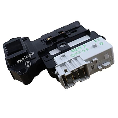 Marel Shop - Elettroserratura serratura blocca porta 4 contatti per lavatrice compatibile con LG per modelli: F1443KDZ - F14470TD - F1447TD - F1448QDP1