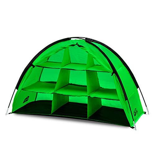 Qeedo Shelf Armario Camping Plegable, construcción rápida, Estable, 120x70x50cm