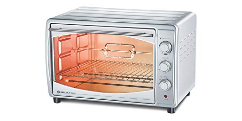 Bajaj Majesty 4500 TMCSS 45-Litre Oven Toaster...