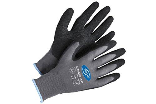 Forsthandschuhe Montagehandschuhe Handschuhe Kori-Grip - Größe 10 - grau/schwarz
