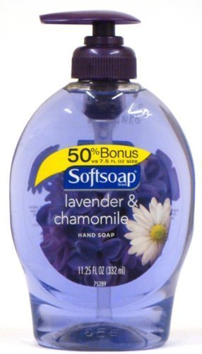 Softsoap Hand Soap, Lavender & Chamomile, 11.25 Oz (Pack of 4)
