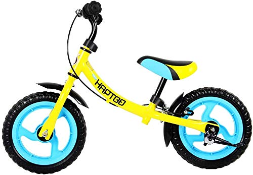 HAPTOO 12 in Sport Balance Bike, Ages 12 Months to 6 Years