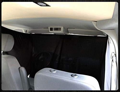 Mercedes Vito Viano W639 Frontgardinen Frontscheiben Gardinen Vorhänge Farbe: Schwarz