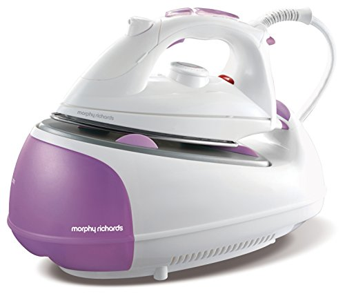 Morphy Richards Jet Steam Generator Iron 333020 Pink White Steam Generator Irons
