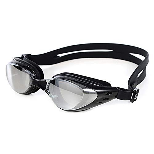 Lixada Schwimmbrille, Antibeschlag Schutzbrille Keine undichte Anti-Fog-UV-Schutz-Schwimmbrille mit kostenlosem Schutzetui für Erwachsene Männer Frauen