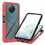 Molg Compatible avec Coque Xiaomi Redmi Note 9 5G/N0te 9T 360 °Housse Protection Complète Corps...