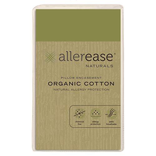 AllerEase Organic Cotton Pillow Protector