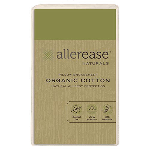 Aller-Ease AllerEase Organic Cotton, King Pillow Protectors,...