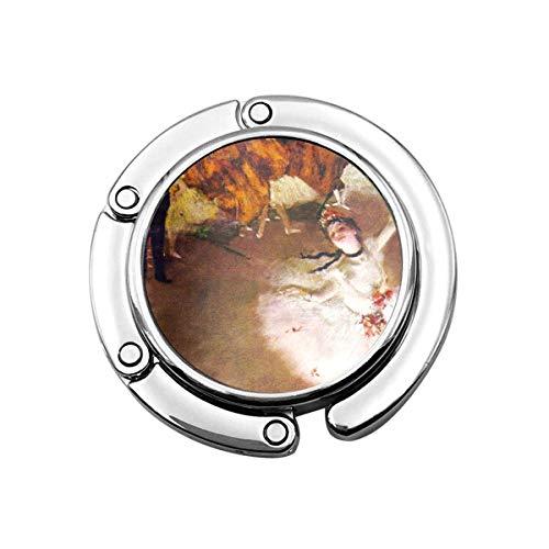 Perchero Monedero Plegable Lindo Gancho Monedero Impresionismo Bailarinas de Ballet Vintage de Edgar Degas Impresionistas