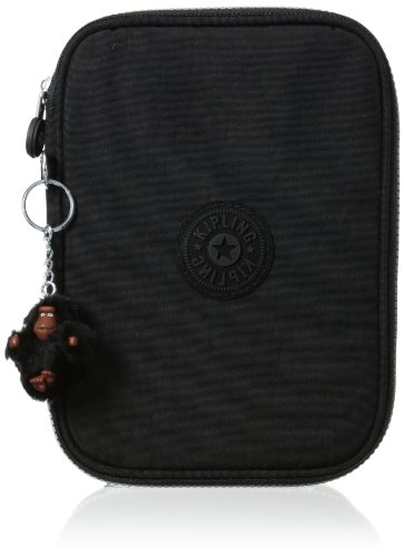 Kipling 100 Pen Case, Black, One Size