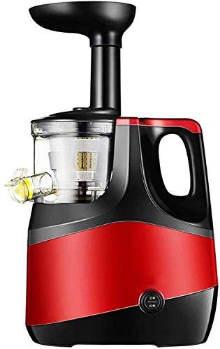 Qinmo Máquinas de exprimidor, exprimidor lento Juicer Juicer Prensa Cold Juicer Vertical Juicer Exprimidor de baja velocidad for la vitalidad de frutas Jugo de nutrientes y humor altos Vegetales de de