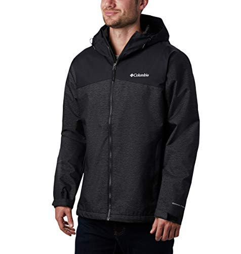 Columbia Men's Ridge Gates Jacket, Black/Black Denim, Large