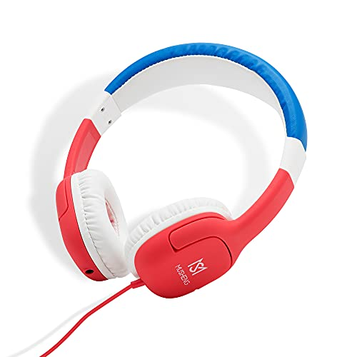 Auriculares Infantiles,con limitación de Volumen de 85 93 dB, Auriculares para Niños,para Teléfono Móvil Tableta,PC MP3 4
