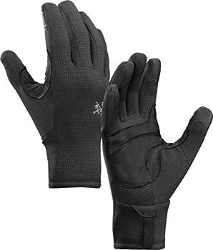 Arc teryx Rivet Glove | Weather Resistant Hardfleece Glove | Black Small