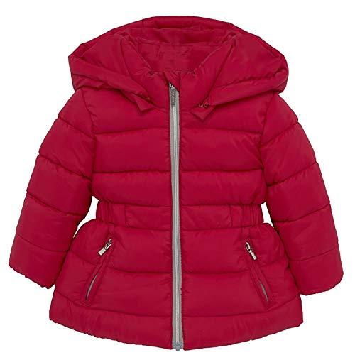Mayoral - Meisjes baby peuters gewatteerde jas gewatteerde en gewatteerde winterjas, rood - 414.