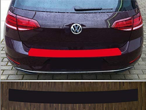passgenau für ***VW Golf 7 Limousine*** ab 2013, Lackschutzfolie Ladekantenschutz transparent