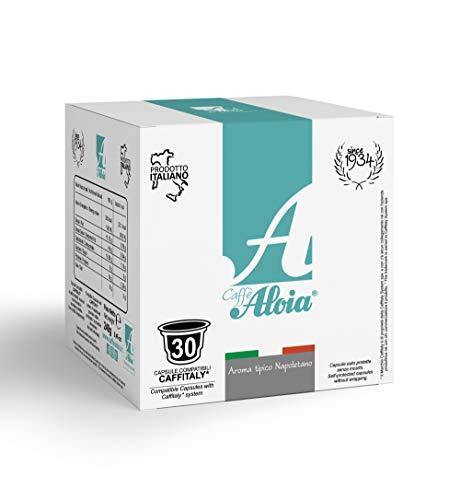 Caffè Aloia Aroma Tipico Napoletano Compatibili Caffitaly - 30 pz