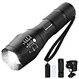 Binwo LED Torch - Super Bright 2000 Lumen Rechargeable Torch, Tactical Flashlight Torch