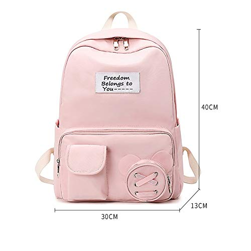 N / A JDSWL Backpack Junior High School Student School Bag Primary School Student Large Capacity Waterproof Backpack High School Student Backpack