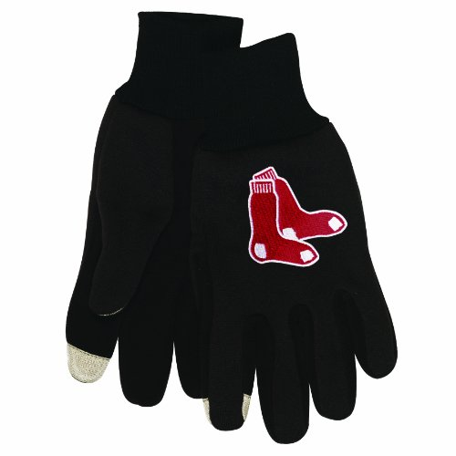 Wincraft MLB Herren Technologie Touch Handschuhe, Herren, Boston Red Sox